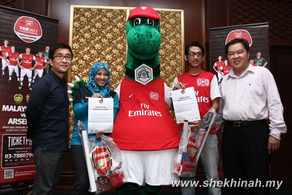 Hakeem and Anis' are certified Super Gunners!