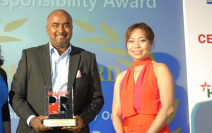 Gold award in the Corporate Social Responsibility category at the MPRA 2016